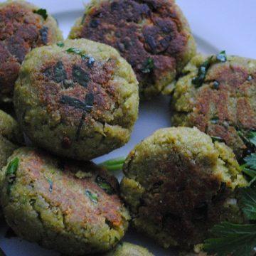 Asparagus Burgers Recipe | My Halal Kitchen