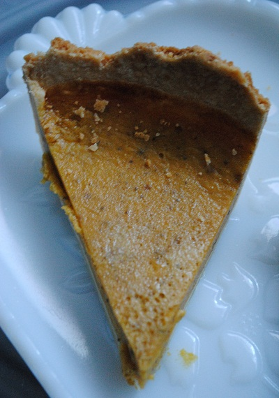 Pumpkin Pie Not From a Can