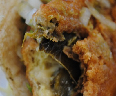 Inside Chile Relleno Taco | Las Asadas Mexican Restaurant