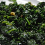 Spinach and Garlic Side Dish 600