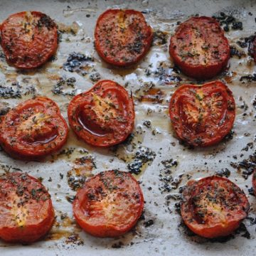 Oven Roasted Tomatoes | My Halal Kitchen
