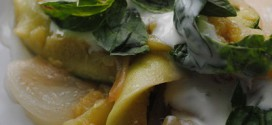 Sauteed Zucchini with Yogurt & Basil