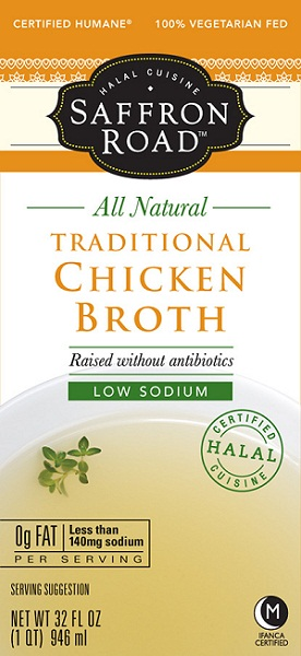 Saffron Road Low Sodium Chicken Broth