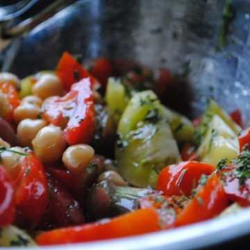 Heirloom Tomato Salad | My Halal Kitchen