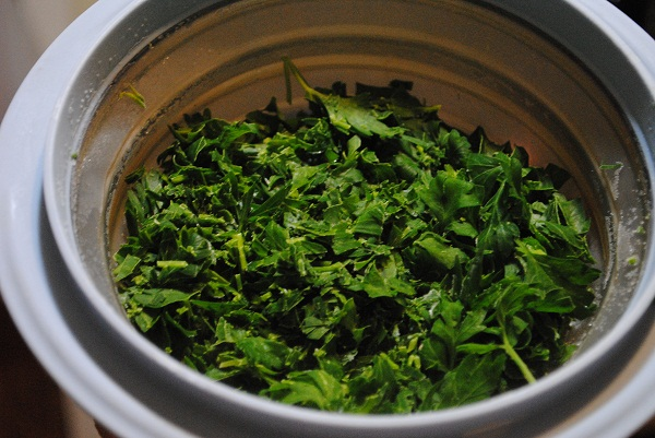 How to Preserve Fresh Summer Parsley