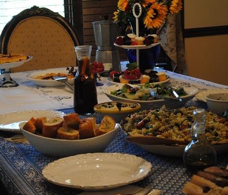 Eid table setting & Eid table setting - My Halal Kitchen by Yvonne Maffei-