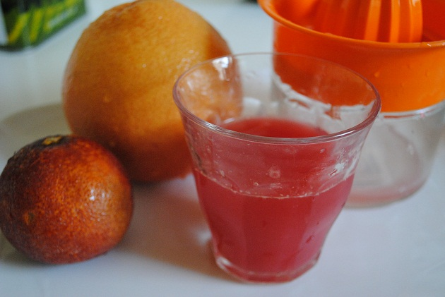 Ruby Red Grapefruit & Blood Orange Juice