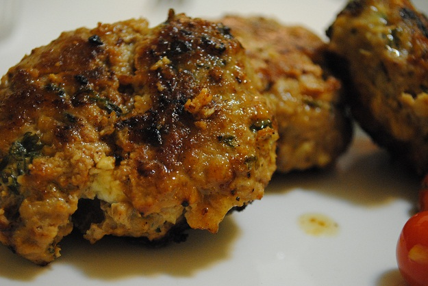 Turkey Burgers with Feta | My Halal Kitchen