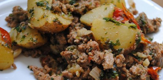 Ground Turkey with Potatoes and Mint   My Halal Kitchen