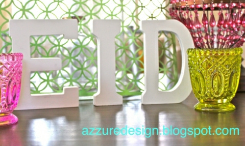 Decorating the Home for Ramadan and Eid