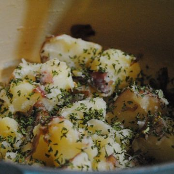 Red Potatoes & Parsley | My Halal Kitchen