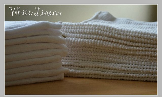 White Linens | My Halal Kitchen- Cleaning