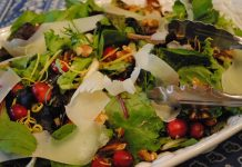 Winter Salad with Cranberries | My Halal Kitchen