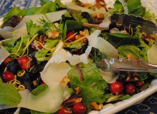 Winter Salad with Cranberries   My Halal Kitchen