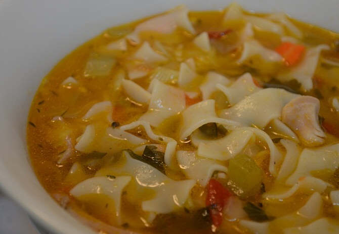 Chicken Noodle Soup Recipe: A Winter Necessity