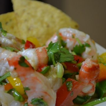 Caribbean Shrimp Salad | My Halal Kitchen