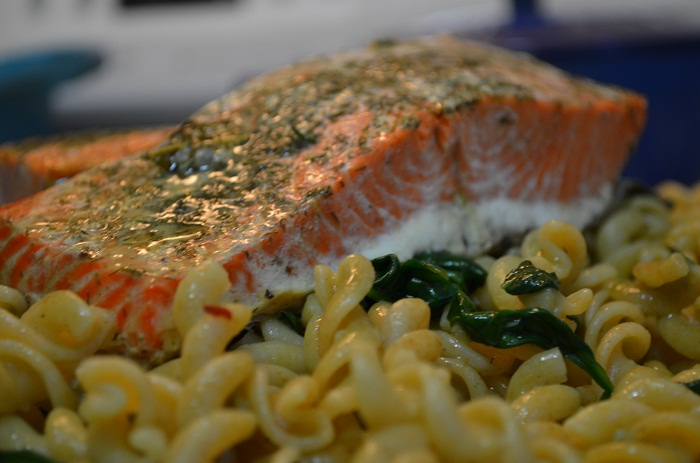 Baked Salmon with Dill & Thyme Recipe + Tips for Cooking Salmon