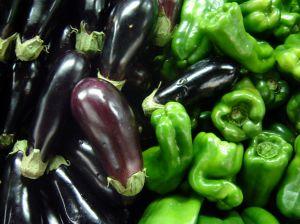 eggplant & pepperoncini