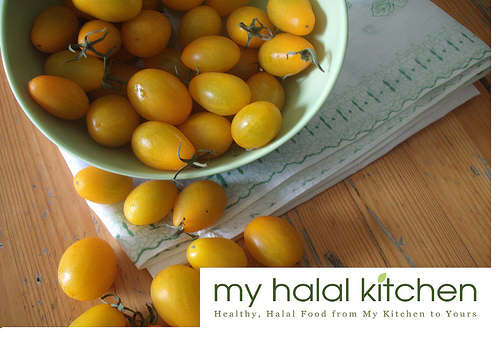 Cherry Tomatoes from Coloma, Michigan | Yvonne Maffe, My Halal Kitchen