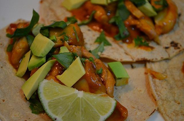 Chicken Tikka Masala Tacos
