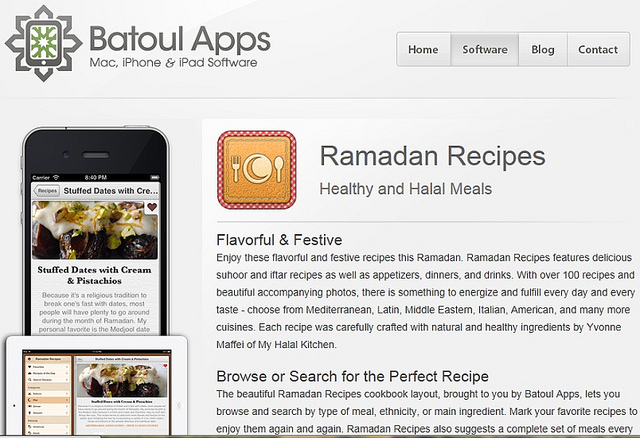 Need Healthy & Delicious Recipes This Ramadan? We've Got an App for That!
