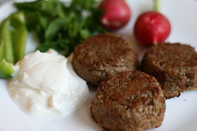 Lebanese Kibbeh Patties