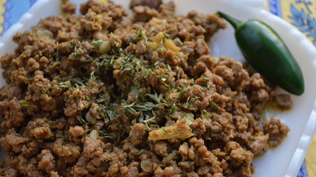 Keema {Delicately Spiced Ground Beef}