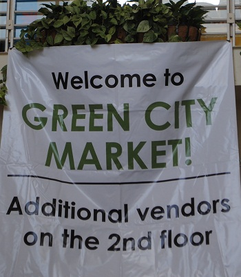 Green City Market Sign