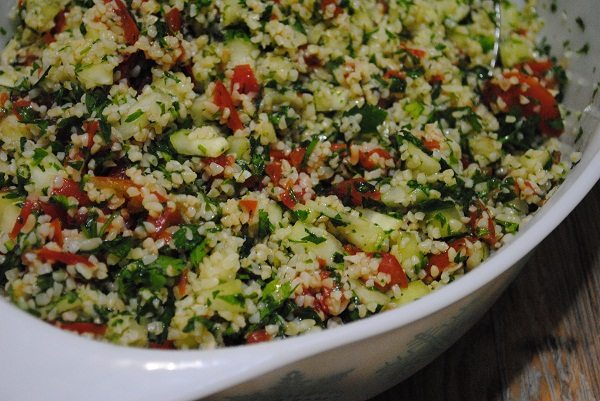 beautiful tabbouleh