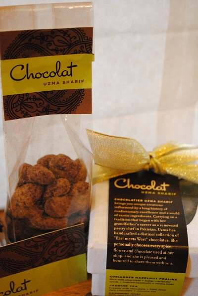 Chocolat Uzma Sharif & a Lovely Chocolate Giveaway