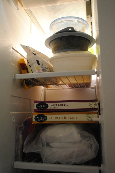 inside my freezer