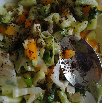 Tangy Lime and Sumac Summer Salad