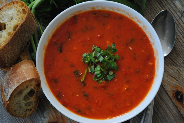 Tomato & Roasted Pepper Soup