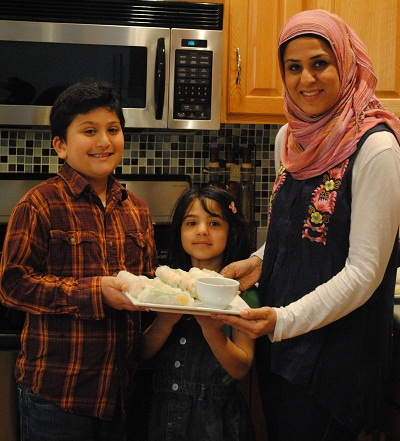 Sadaf Syed, Author of ICover | My Halal Kitchen photos