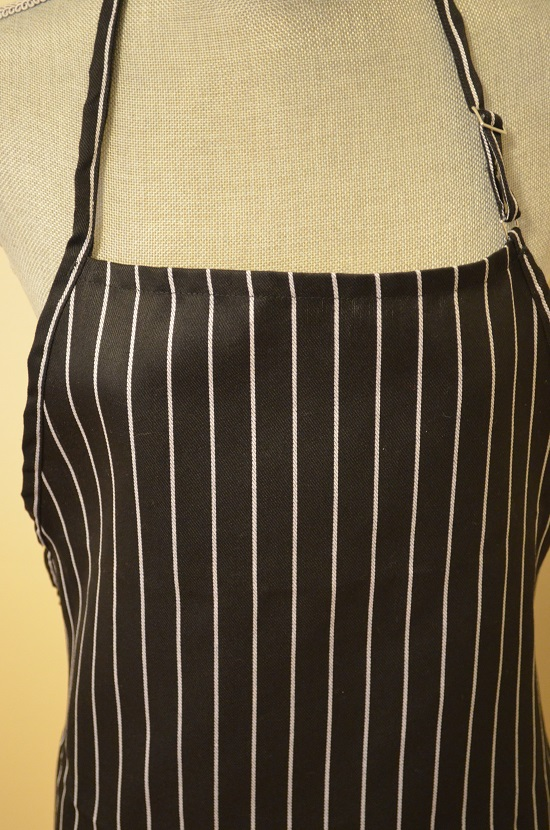 up close grill lovers apron striped