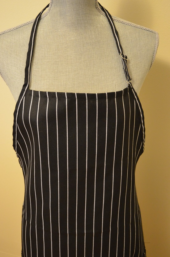 vertical striped apron grill lovers