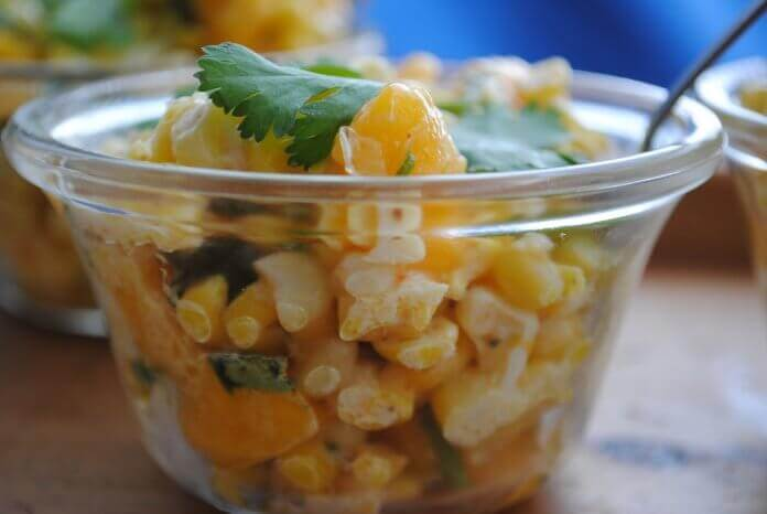 Corn, Mango & Chile Salad