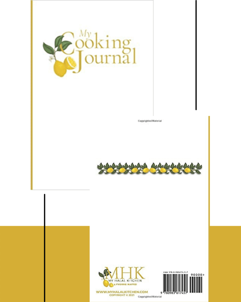 Cooking Journal
