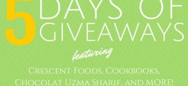 5 Days of Giveaways!
