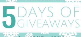 5 Days of Giveaways for December