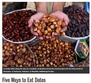 5 ways to eat dates Smithsonian 070114