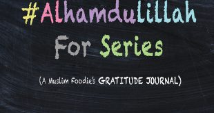 #AlhamdulillahForSeries , positivity, gratitude journal for muslims, colorful, chalks, blackboard, creative muslim women