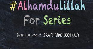#AlhamdulillahForSeries , positivity, gratitude journal for muslims, colorful, chalks, blackboard, creative muslim women