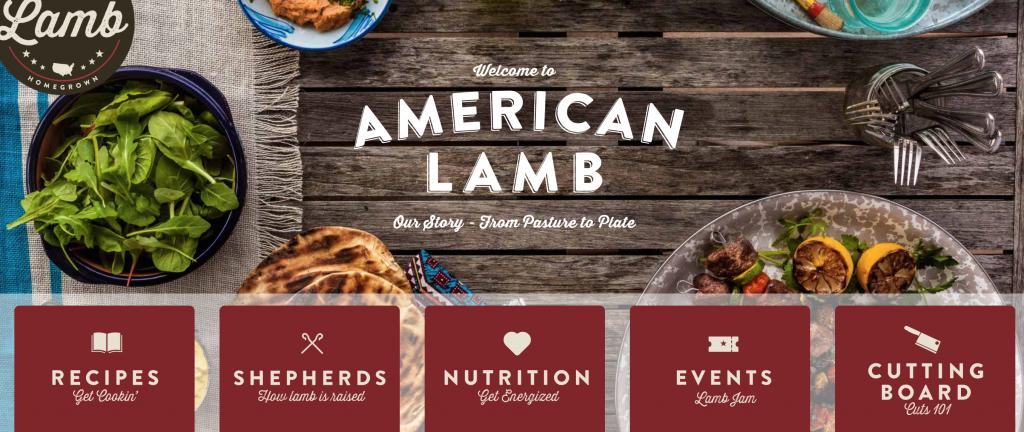 American Lamb Board Web Page