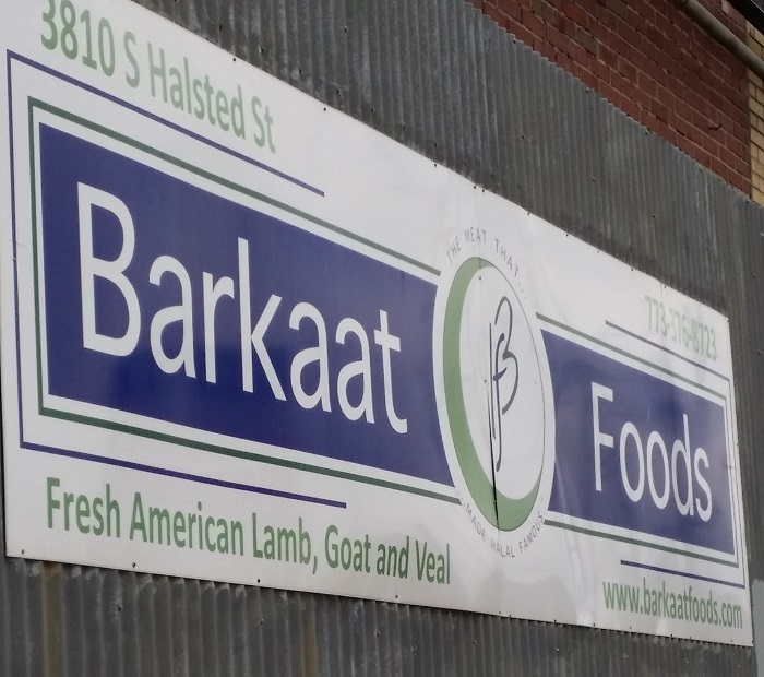 Barkaat Foods Sign