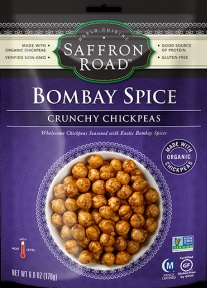 Bombay Spice Crunchy Chickpeas by Saffron Road