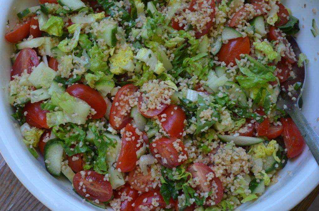 Bulghur and Vegetable Salad