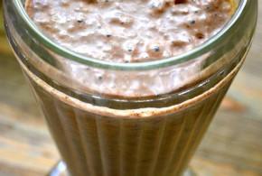 Godiva Chocolate & Banana Smoothie