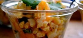 Corn, Mango and Chile Salad Cups
