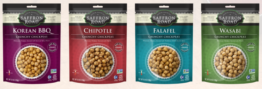 Saffron Road Crunchy Chickpeas Giveaway | My Halal Kitchen